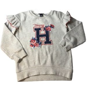 Tommy Hilfiger Girls 6X Embroidered Pull Over